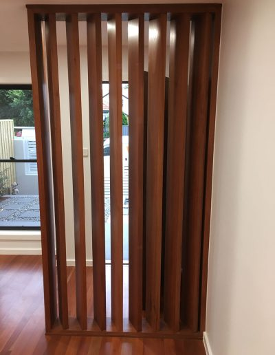 Timber Room Divider